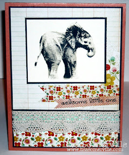 Stamps - Kitchen Sink Stamps Multi Step 'Lil Elephant
