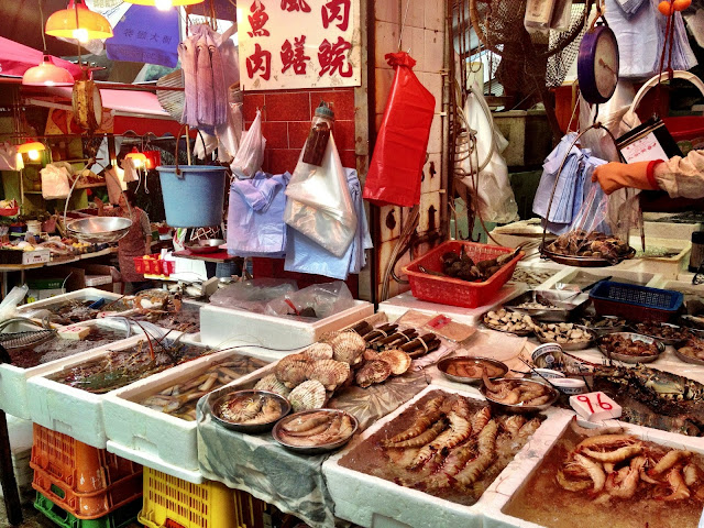 Gage Street Market - Fish Stall