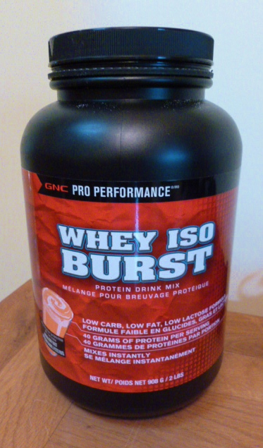 We can begin to feed...: GNC Whey ISO Burst Protein Powder ...