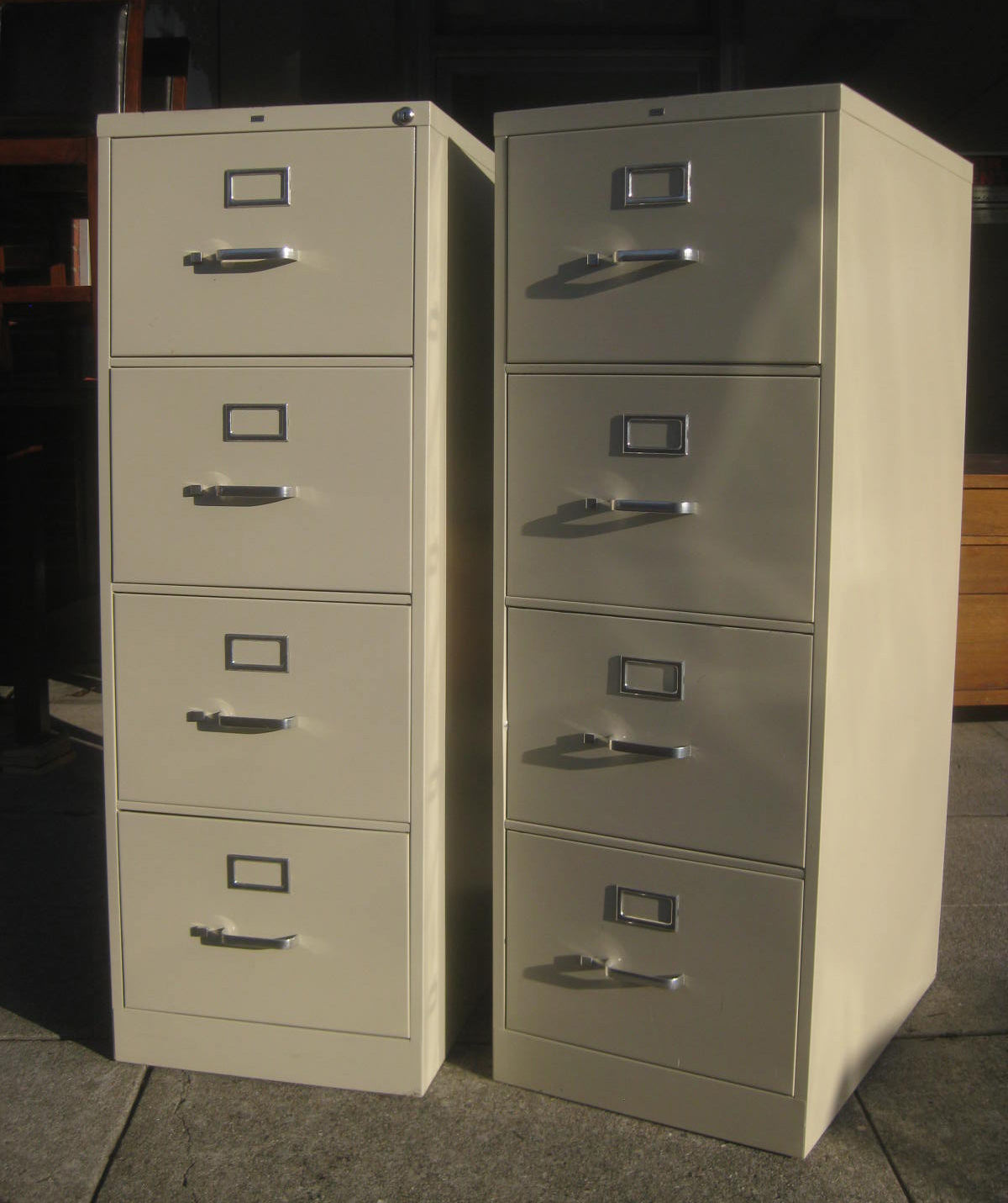 Brilliant Series 5000 Insulated Vertical File Cabinet  Legal Size