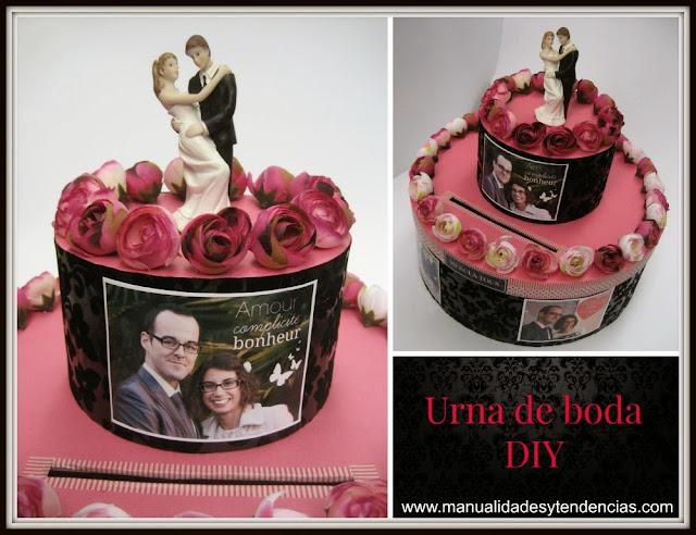 Urna de boda / Urne de mariage