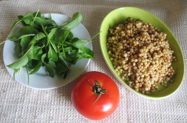 Wheat Berries and Bacon