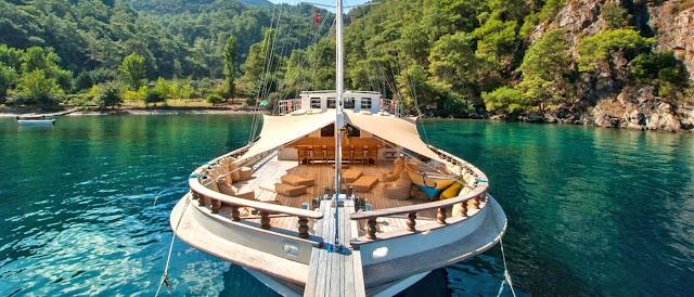 alquiler de goletas en Turquia