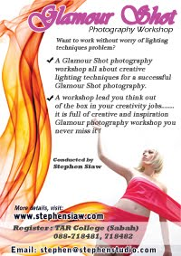 GLAMOUR SHOTS Photography Workshop.