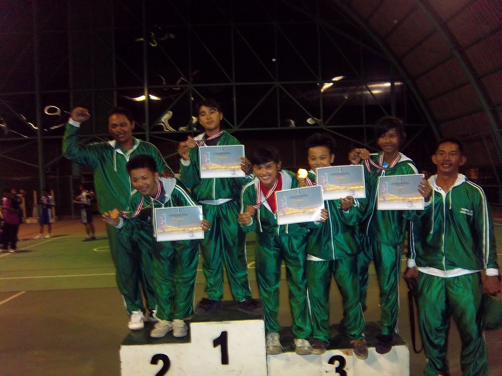 sepak takraw surabaya popda 2012