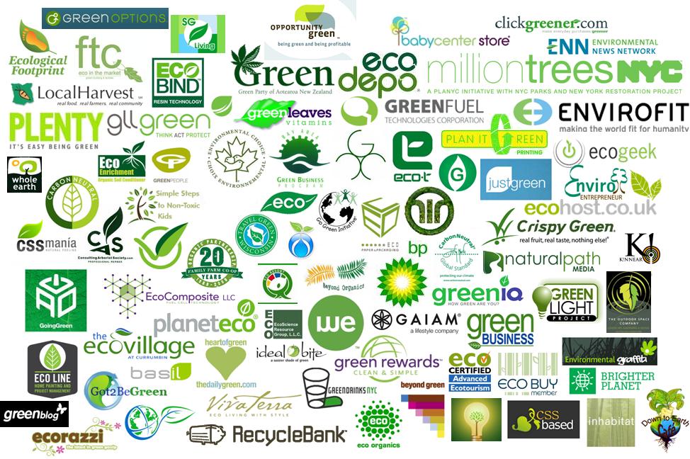 Categories : green logo