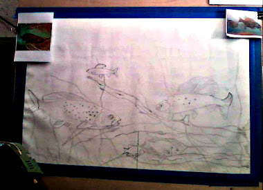 In Progress Graying Fish in River