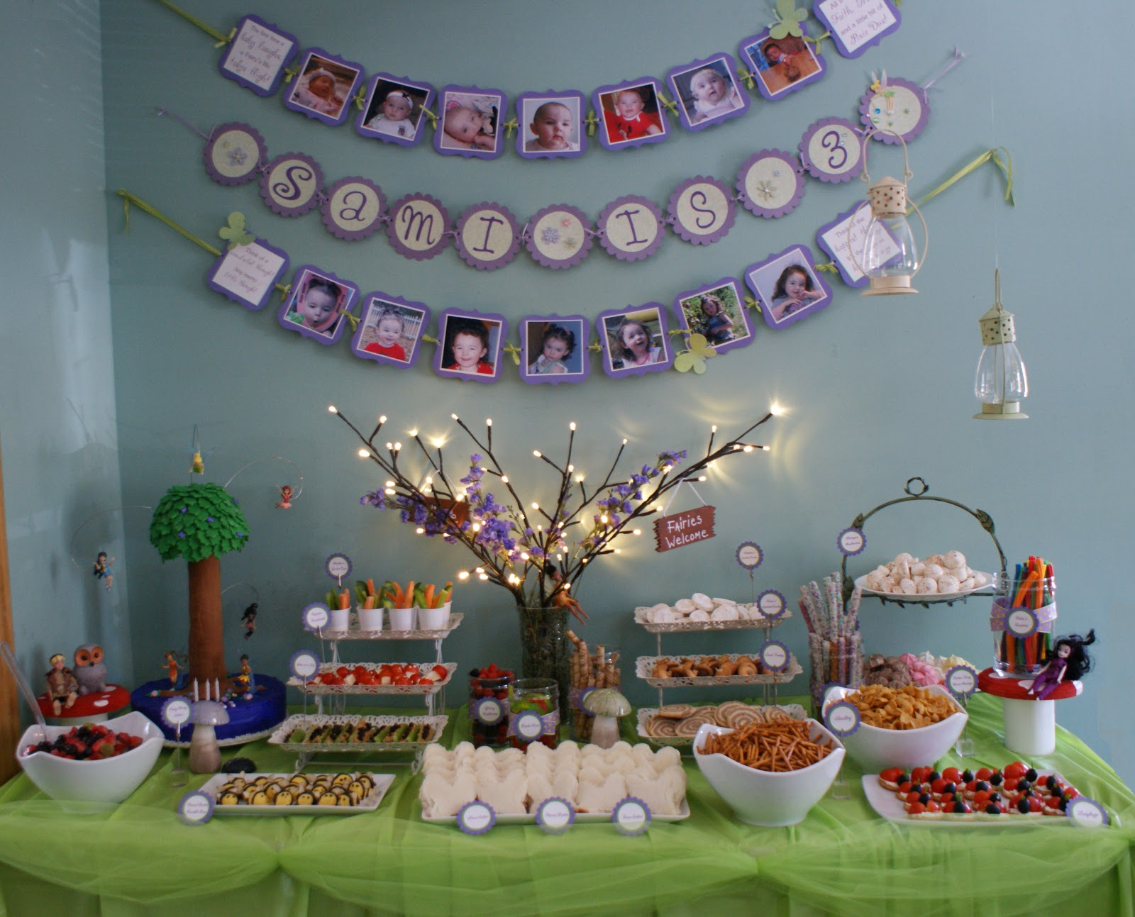The Purple Patch Tinker Bell Fairy Party