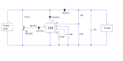 solar battery charger circuit over charge protection my circuit diagram of simple solar battery charger