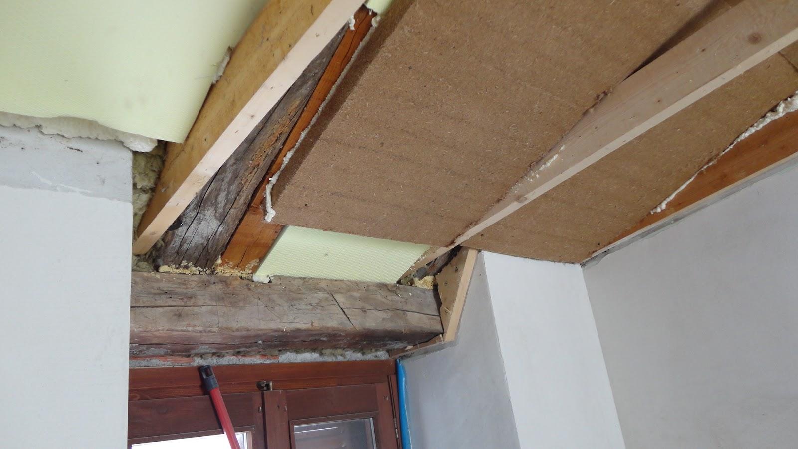 Falegnameria sansi tetto mansarda isolamento e rivestimento - Isolamento tetto interno ...