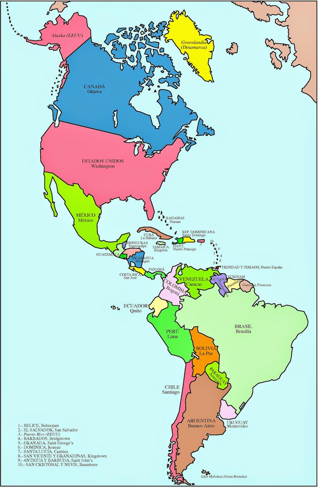 Mapa De Canada Este - Canada mapa