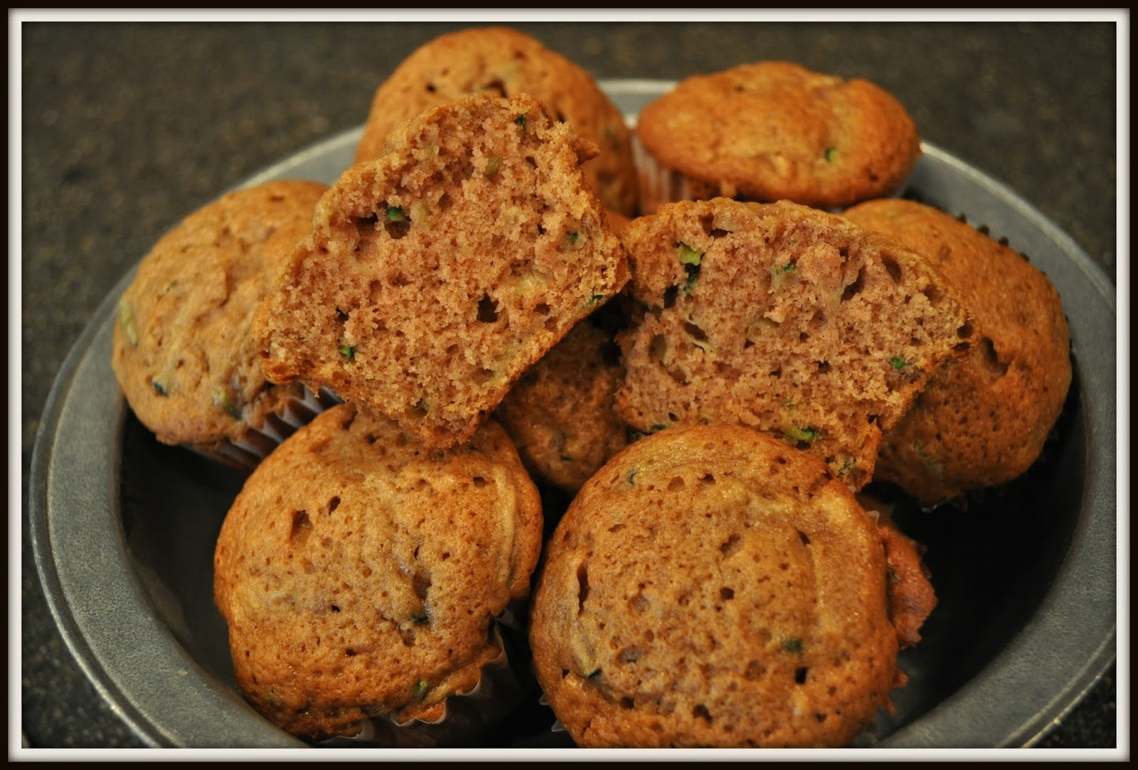 Grassy Branch Farm: Best Zucchini Muffins Ever!