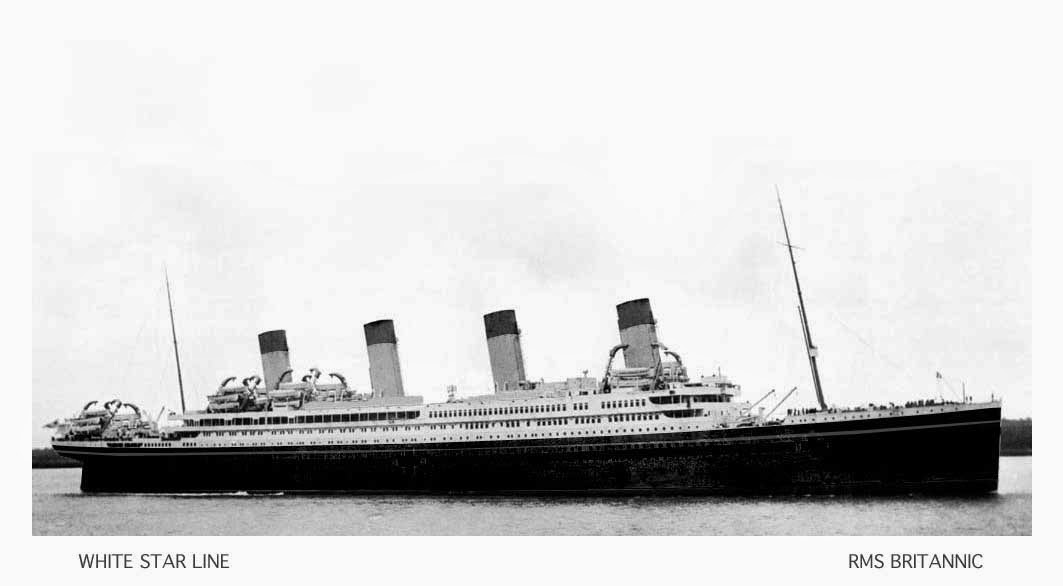 Violeta Jossep - RMS Britannic - White Star Line
