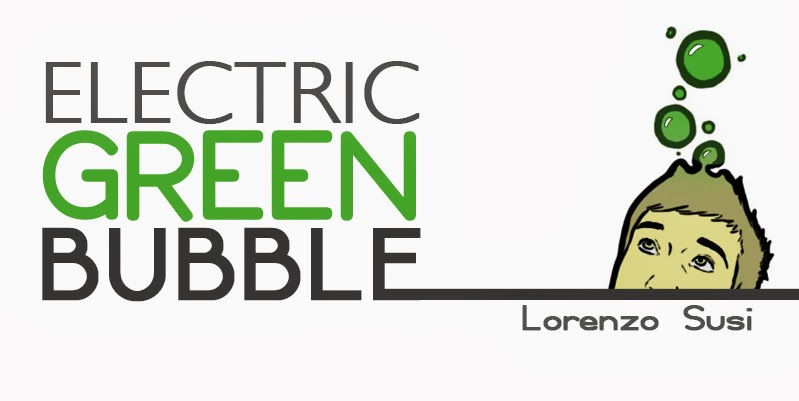electric green bubbles