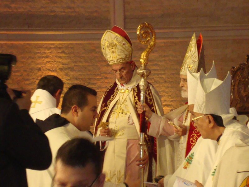 RORATE CÆLI: Scenes from the enthronement of the new Maronite ...
