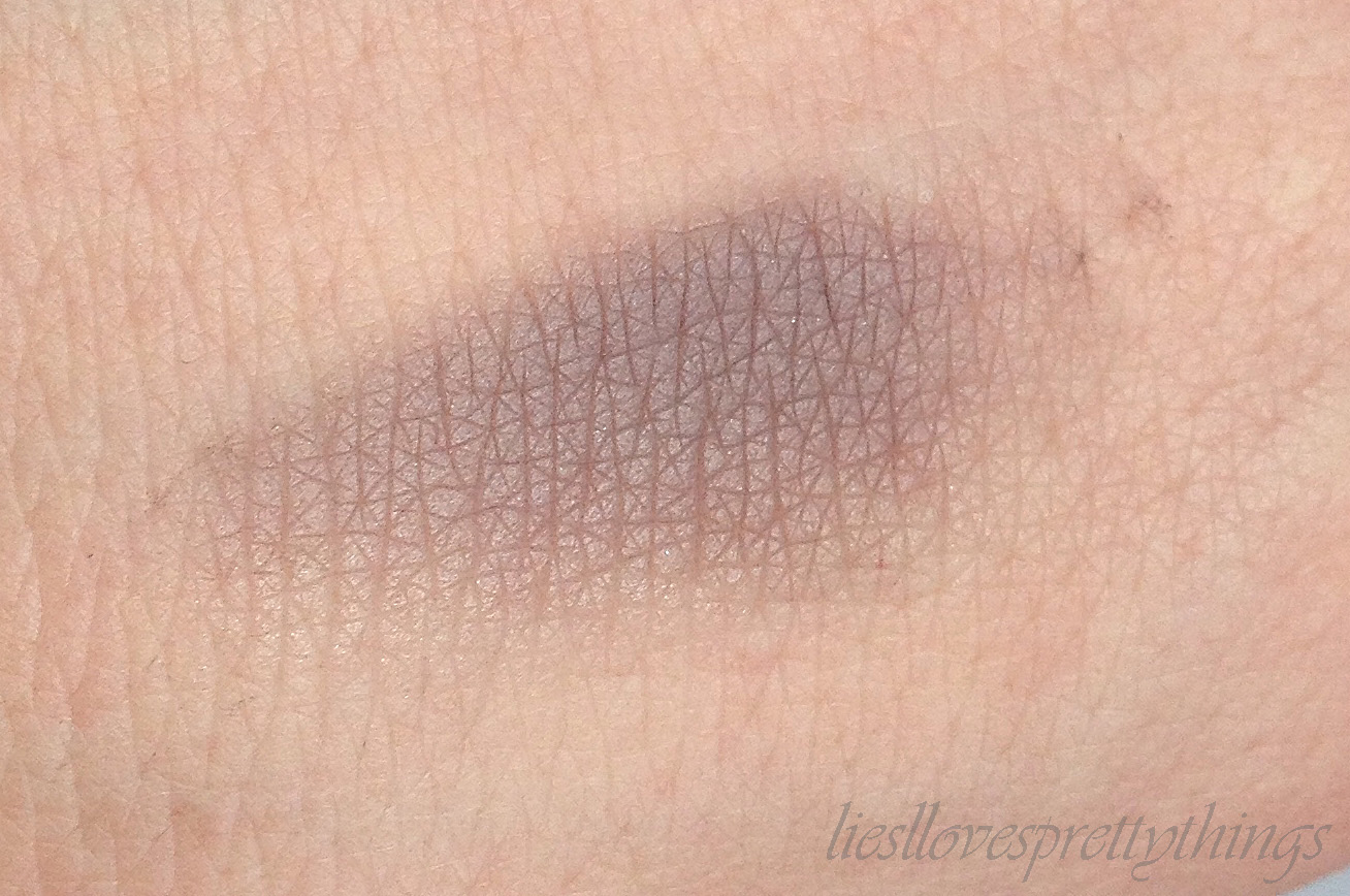NYX Over The Taupe Taupe eyeshadow swatch and review
