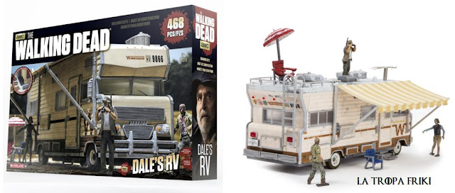 Kit de construcción The Walking Dead: la caravana de Dale por unos 79€