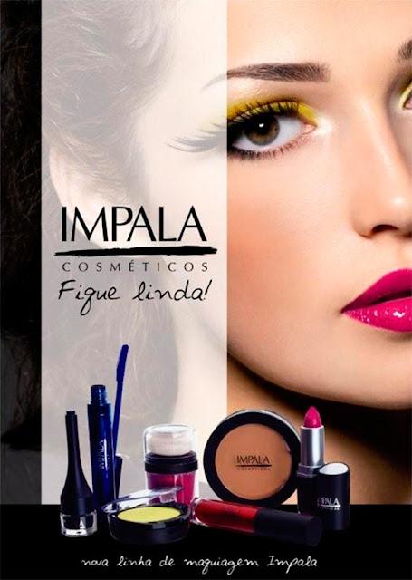 Coleção Impala cosméticos