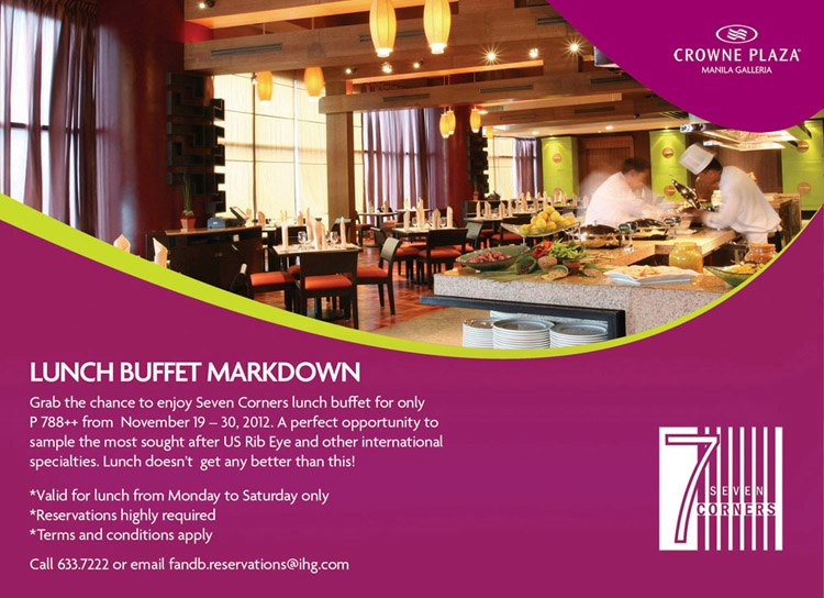 Crowne plaza discount coupons