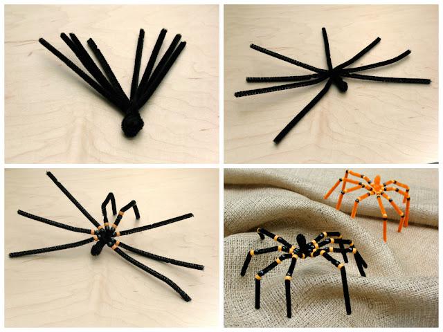 детская поделка паук красиво и просто