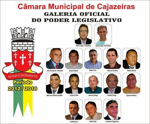 GALERIA DOS VEREADORES  DE CAJAZEIRAS PB