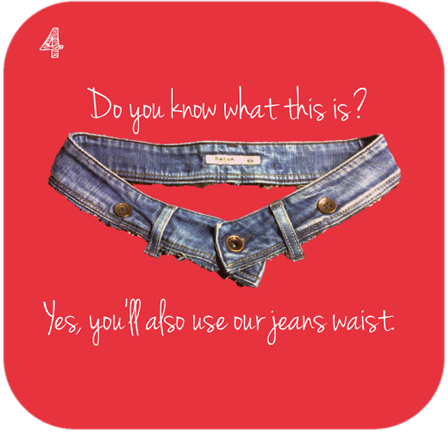 do you know what this is? Yes, you'll also use our jeans waist