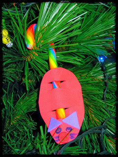 Christmas candy cane mouse craft foto artis candydoll
