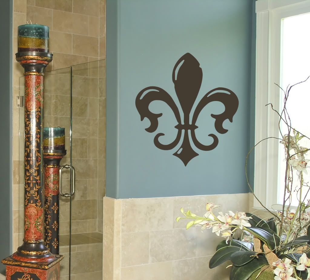 History of the fleur de lis home decor fleur de list for Fleur de lis home decorations