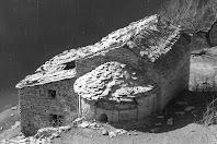 Sant Vicenç de Verders a les Gorgues. Arxiu Gavín 1974