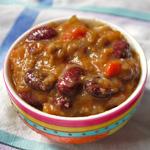 Chili con carne peu épicé (voir la recette)