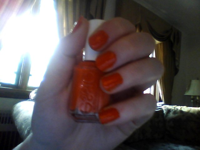 The Times New Roman: Nail Polish of the Moment: Capri by Essie
