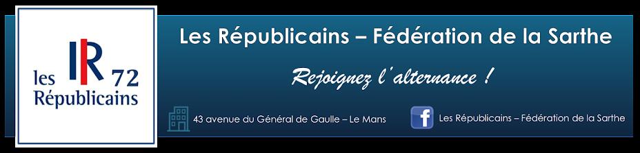 Les Républicains - Fédération de la Sarthe