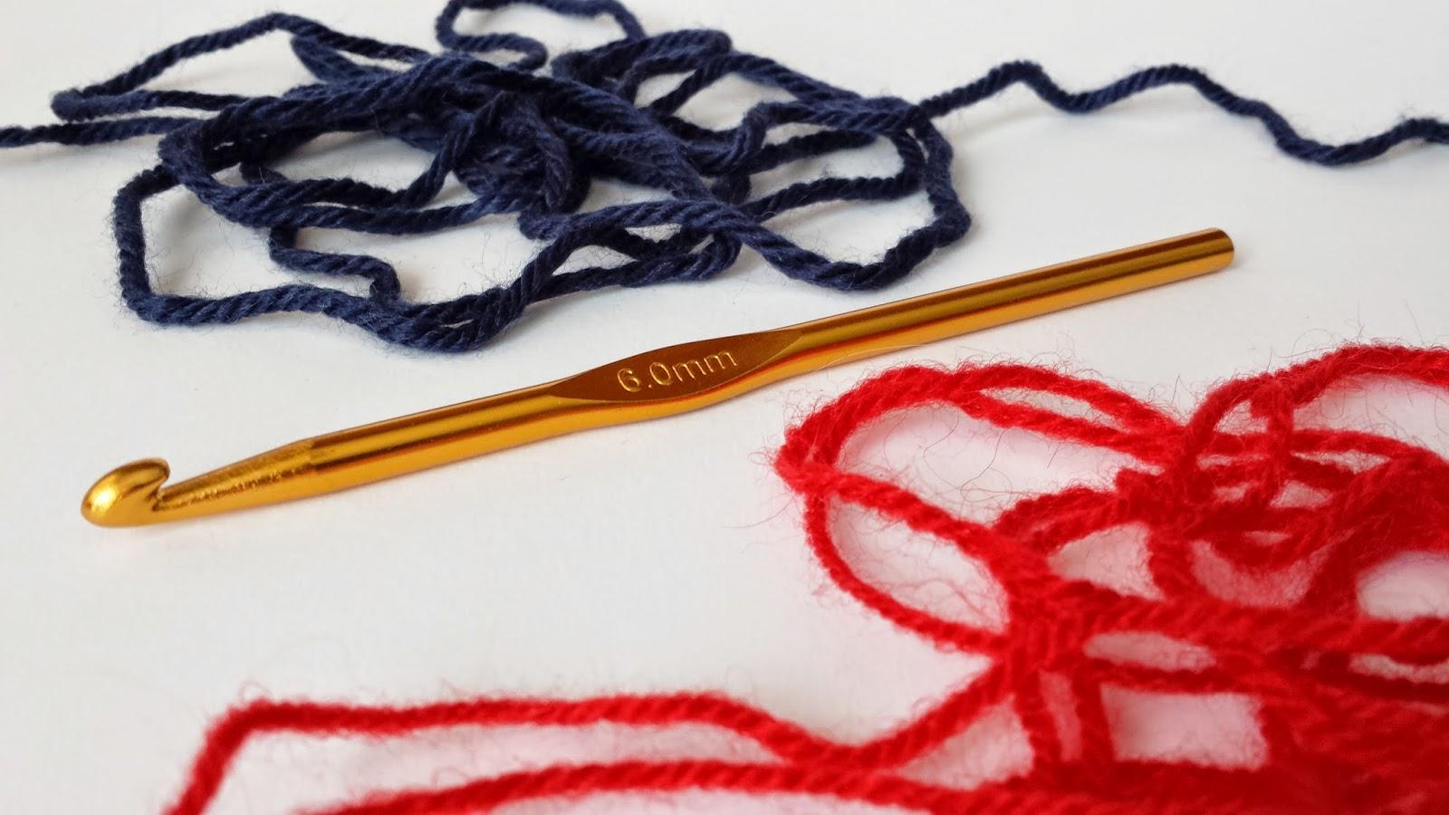 Materiales para bufanda unisex ganchillo con patron