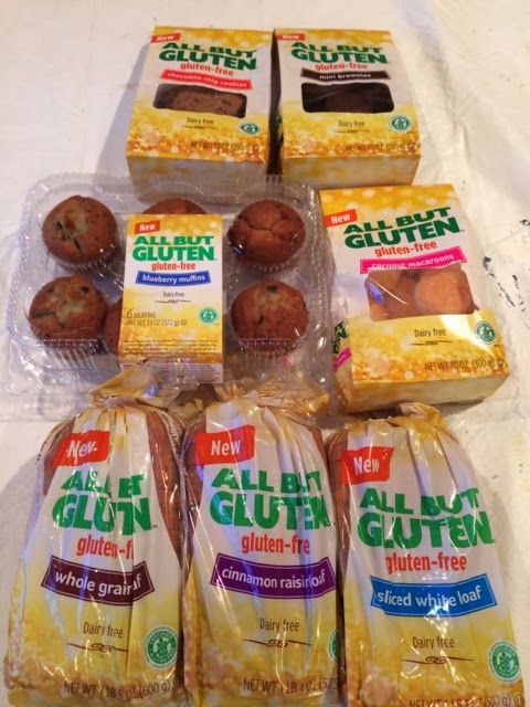 Product samples sent to me from All But Gluten™