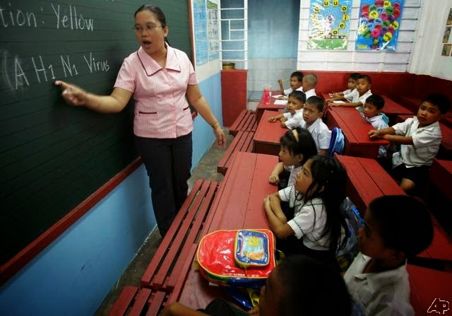 Palace: No Salary Increase for Public School Teachers in 2015