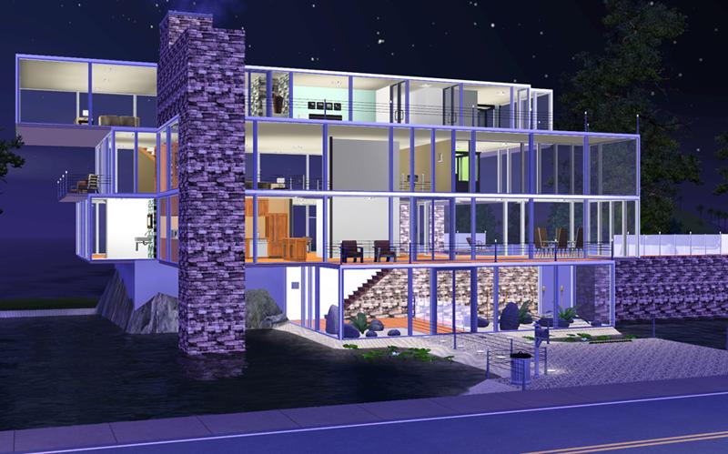The sims3 dezembro 2012 - Casas bonitas sims 3 ...