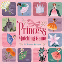 Princess Matching Game by Brigette Barrager