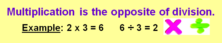 Inverse Operations Lessons Tes Teach – Multiplicative Inverse Worksheet