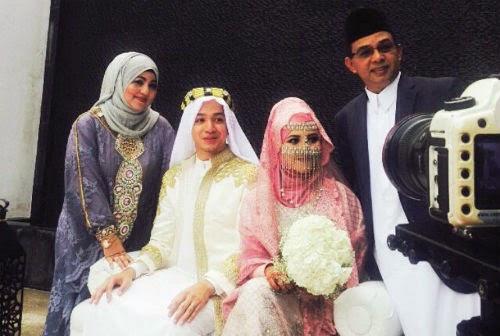 10 Gambar Kahwin Syarif Sleeq 22 November 2014