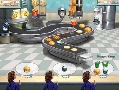 Permainan : Download Burger Shop Game