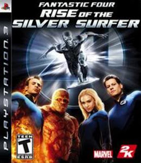 The Fantastic 4 Rise of the Silver Surfer
