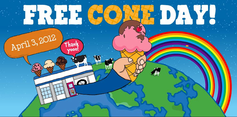 FoodieFC: Ben & Jerry's Singapore: Free Cone Day (3 April 2012 ...