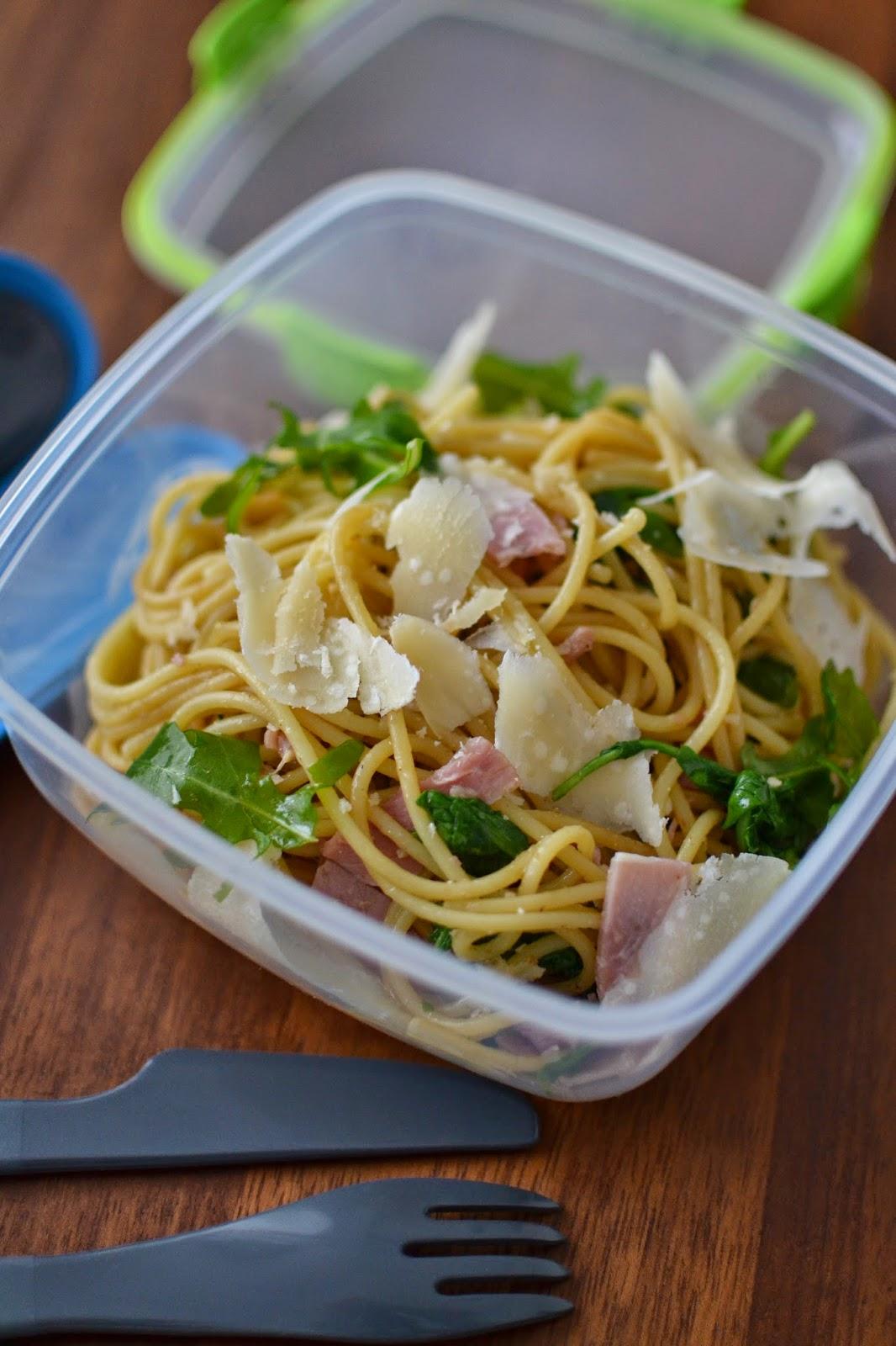 Simple comme une salade de p tes jambon roquette - Salade de pates jambon ...
