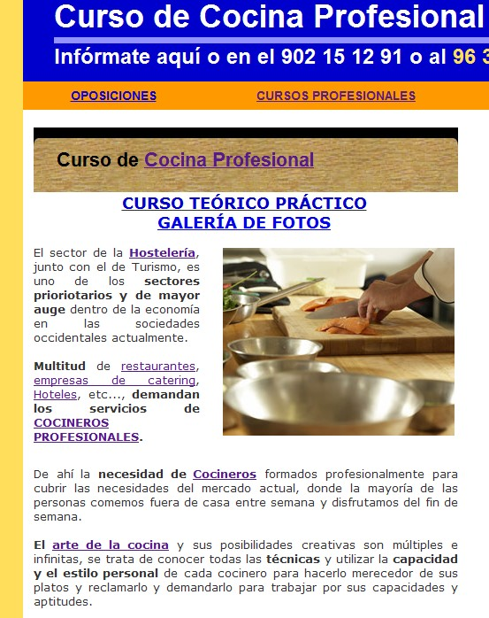 Blog juan antonio galindo ceo aclys for Curso cocina profesional pdf