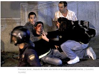 La obediencia ciega y las cargas policiales en rodea el congreso