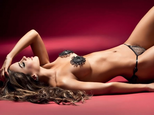 Natalia Velez in Underwear