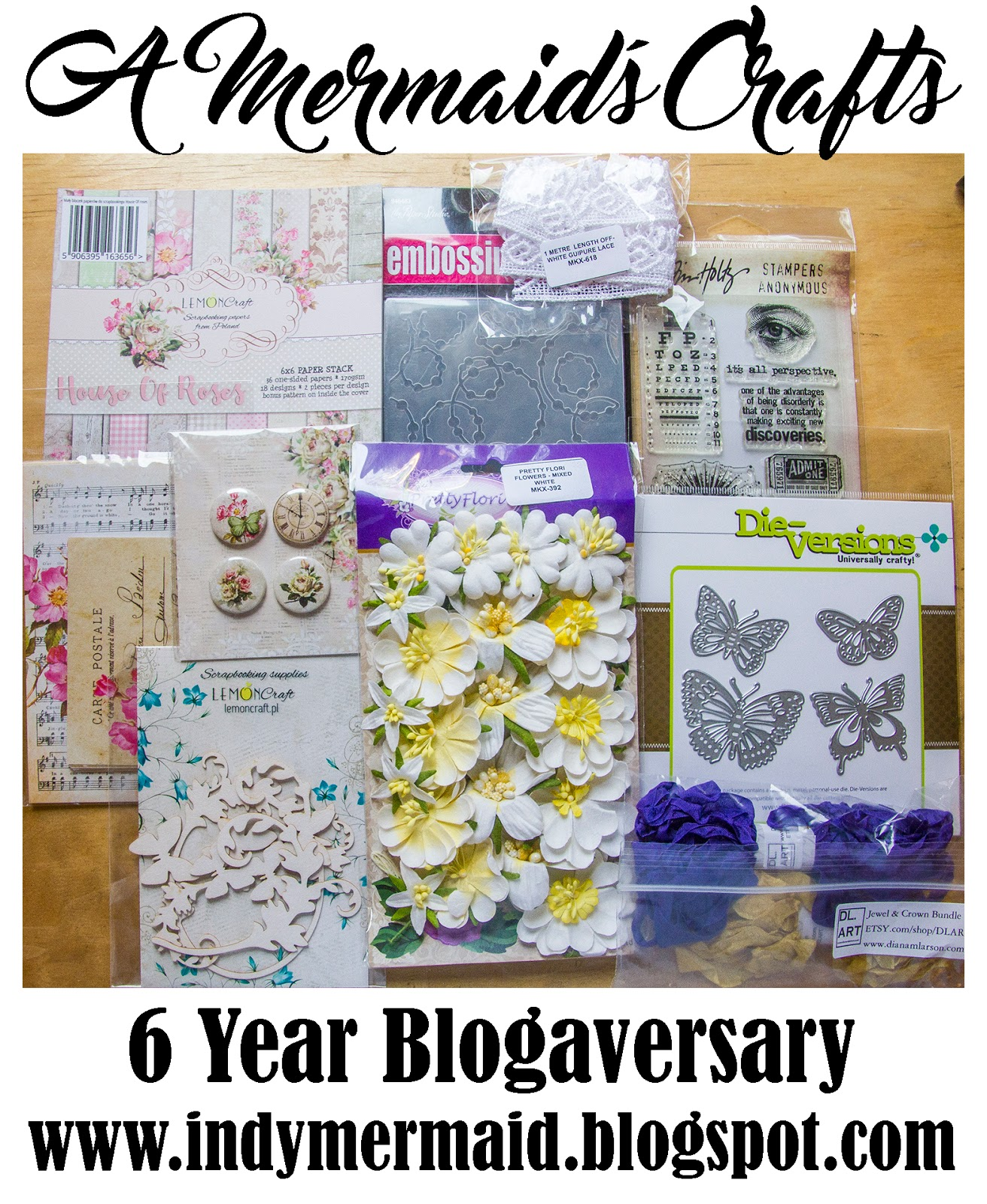 Lisa's 6th Blogaversary Giveaway