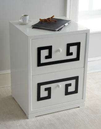 Genial When I Saw This Greek Key Double File Box In The New Horchow Catalog For  $450, It Occurred To Me How Easy It Would Be To Get Some Ou0027verlays In Greek  Key, ...