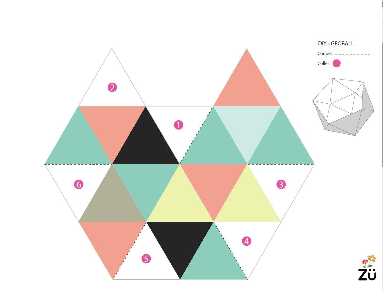 Геометрические фигуры из бумаги своими руками схемы шаблоны