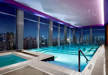 The holiday and travel magazine renaissance shanghai yu - Shanghai infinity pool ...
